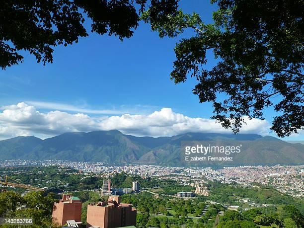 city of caracas, venezuela - paisajes de venezuela fotografías e imágenes de stock