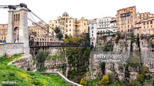 city of constantine - algeria stock pictures, royalty-free photos & images