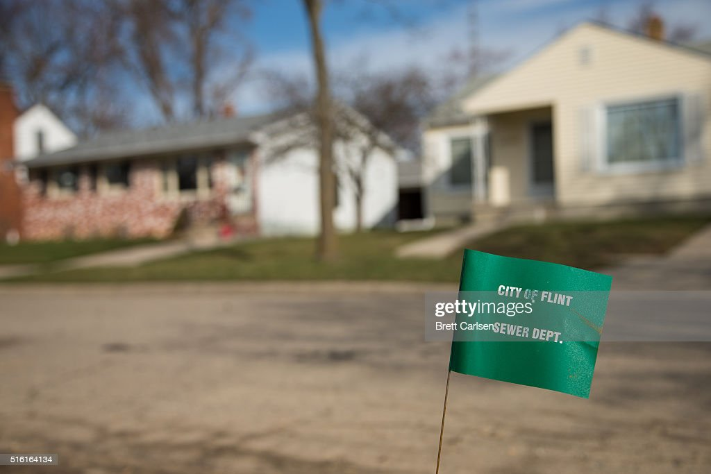 Flint Continues To Struggle With Water Contamination Crisis : News Photo