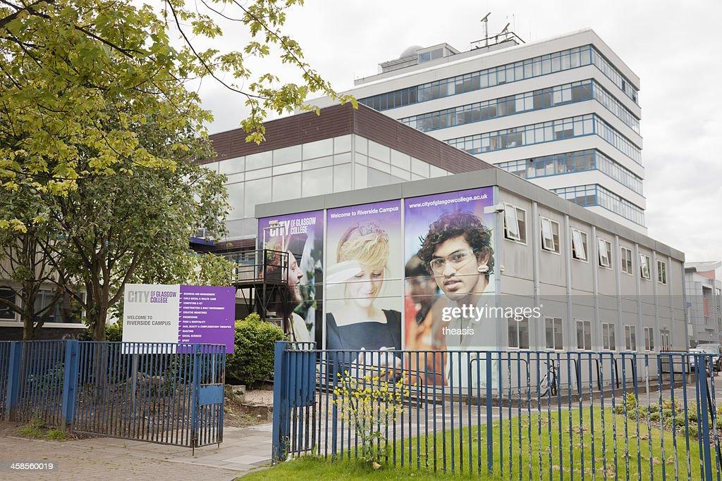 City of Glasgow College - Riverside Campus : Stock Photo