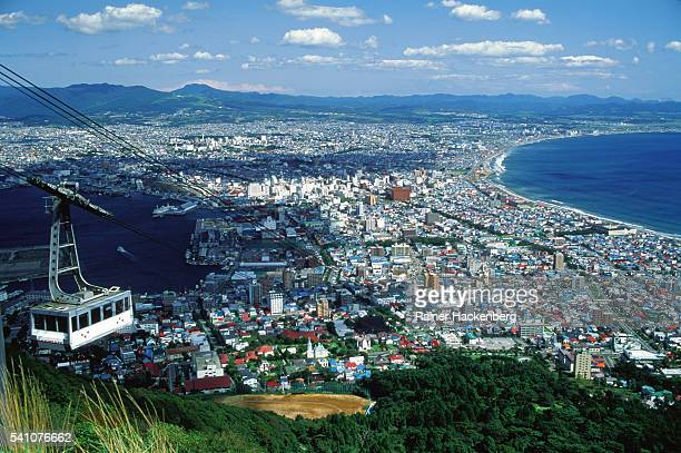 City of Hakodate in Japan