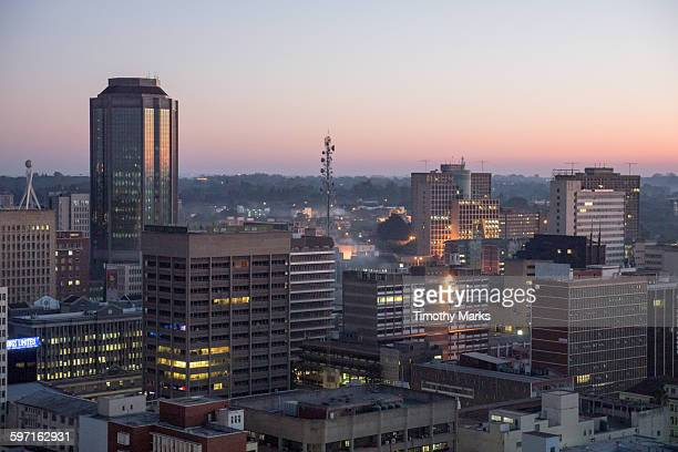 City of Harare Sunrise
