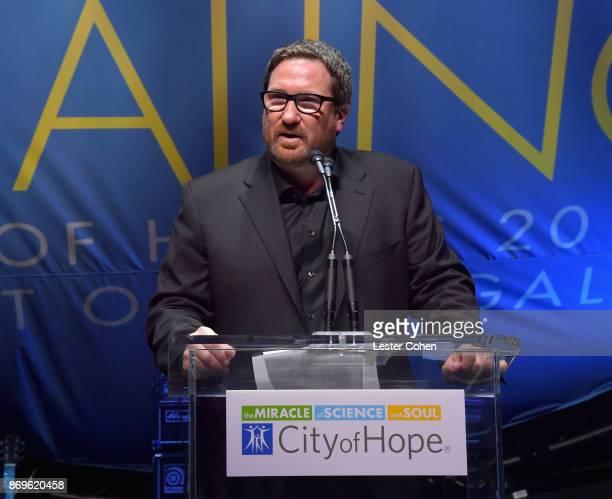 City of Hope Executive Board Member Peter Gray at MFEI Spirit Of Life Honoring Coran Capshaw on November 2 2017 in Santa Monica California