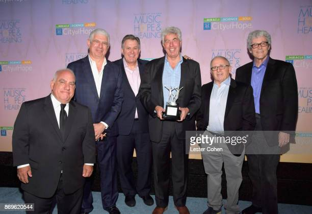 City of Hope Executive Board Member Phil Quartararo Managing Partner/Head of Music at Creative Artists Agency Rob Light CEO of OVG Tim Leiweke...