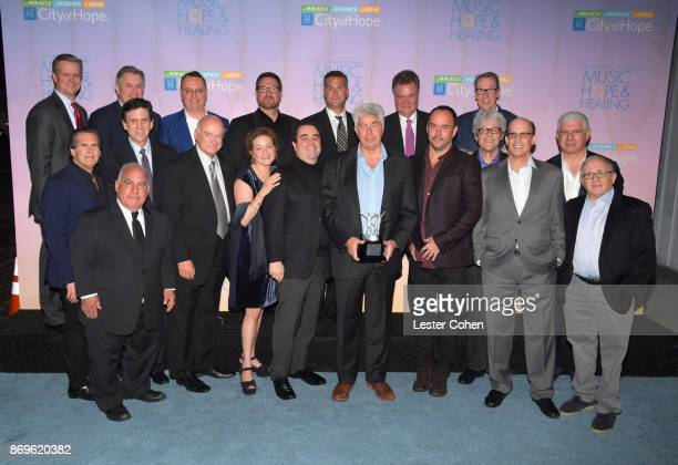 City of Hope Executive Board Members Bruce Eskowitz Phil Quartararo Zach Horowitz John T Frankenheimer Amanda Marks Evan Lamberg Honoree Coran...
