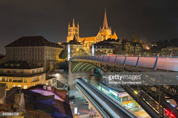 City of Lausanne in the west of Switzerland.