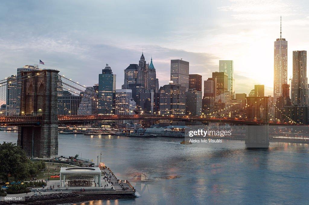 City of Lights : Stock Photo