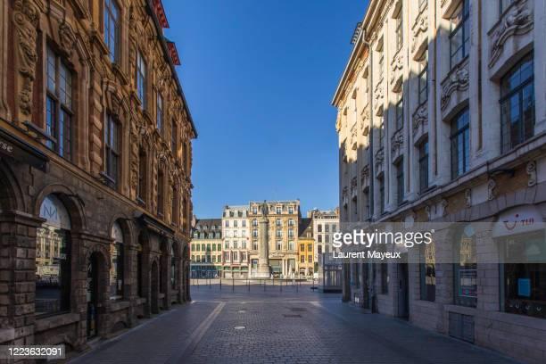city of lille,  capital of flanders - オードフランス地域圏 ストックフォトと画像