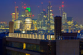 City of London and St. Paul's Cathedral, United Kingdom