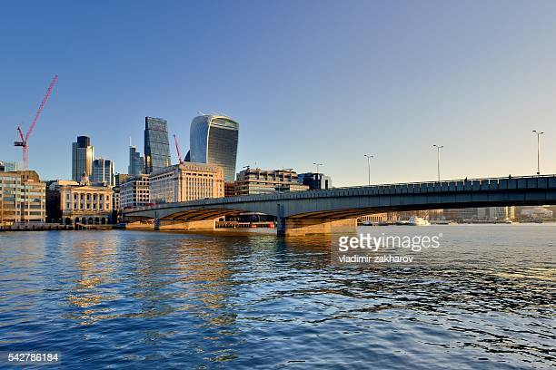 City of London at early morning