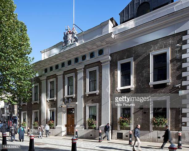 City Of London Book The Square Mile London Ec United Kingdom Architect Unknown Armourers Hall Coleman Street London Uk 2010 Exterior