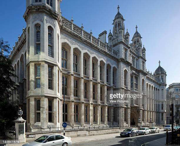 City Of London Book, The Square Mile, London, Ec, United Kingdom, Architect: Unknown Kings College Maughan Library London Uk 2010 Exterior Former...