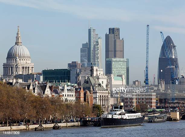 City Of London Book The Square Mile London Ec United Kingdom Architect Unknown View Of The City Of London From Waterloo Bridge Showing St Paul'S...