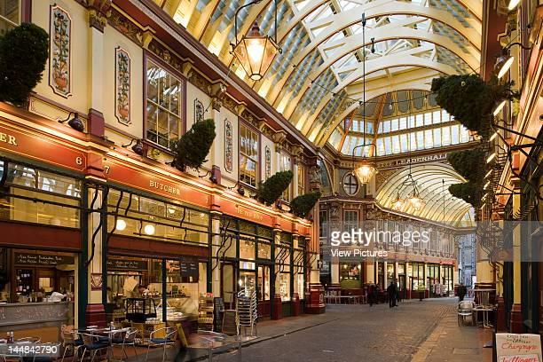 City Of London Book The Square Mile London Ec United Kingdom Architect Unknown City Of London Leadenhall Market Sir Horace Jones Built On Site Of...