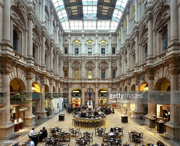 City Of London Book The Square Mile London Ec United Kingdom Architect Unknown City Of London 2010 Royal Exchange Courtyard