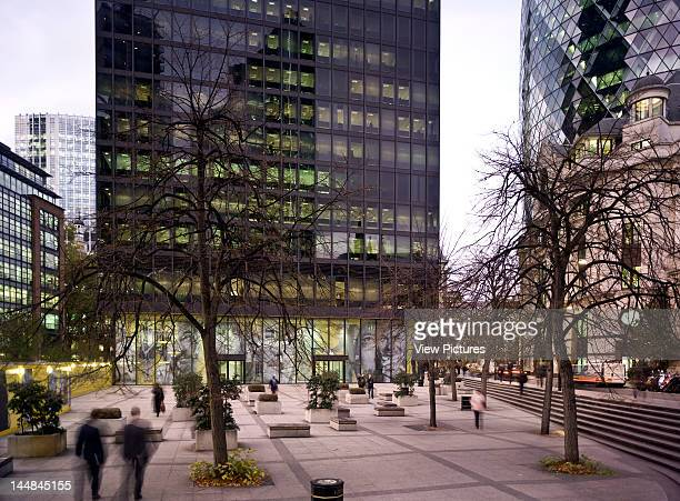 City Of London Book The Square Mile London Ec United Kingdom Architect Unknown City Of London 2010 Cu Tower Or Aviva Tower Adjacent To Plaza Cmv...