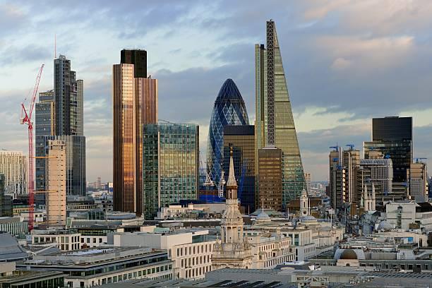 City Of London Brand New Skyline 2014 Wall Art