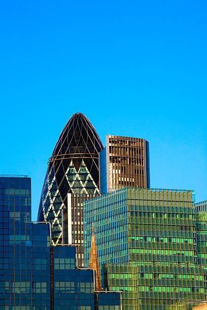 City of London financial buildings