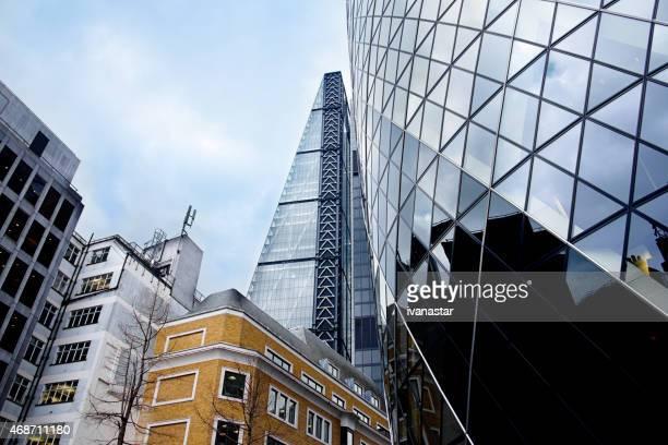 Stadt im Finanzviertel von London