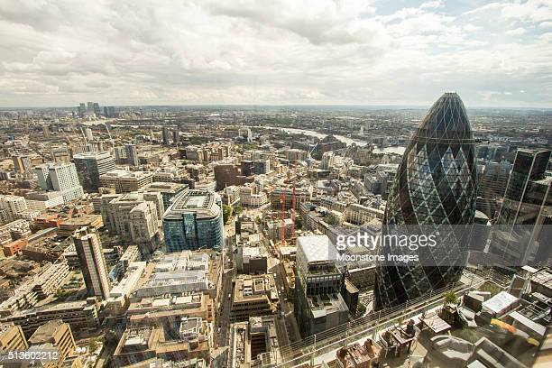 City of London in England, UK