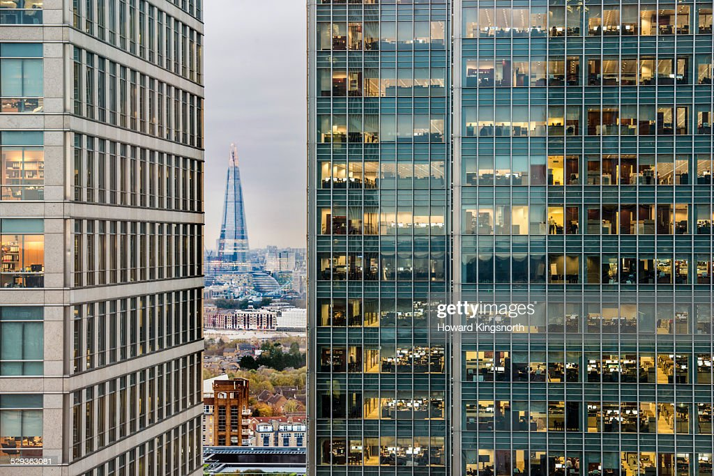 City of London looking West : Stock-Foto