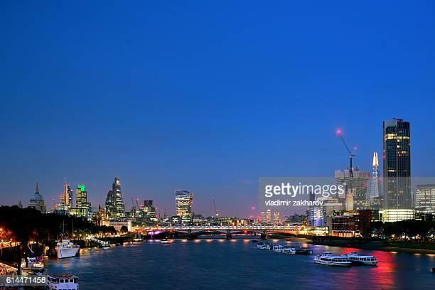 City of London skyline 2016