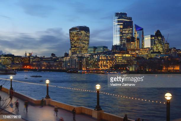 city of london skyline 2020 - 2020 stock pictures, royalty-free photos & images