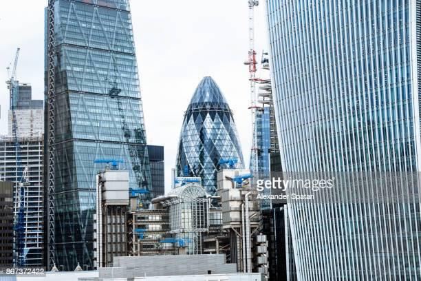 City of London skyline, Greater London, UK