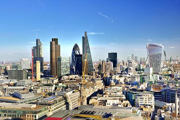 City Of London Skyline Wall Art