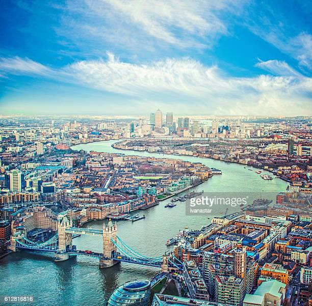 city of london skyline - river thames stock pictures, royalty-free photos & images