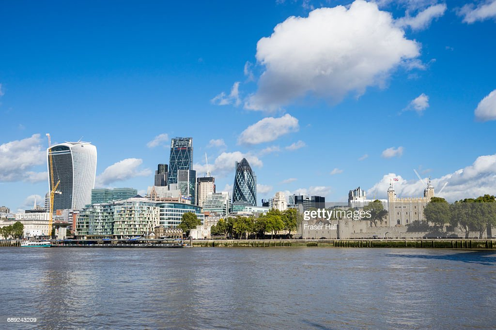 City of London skyline : Stock Photo