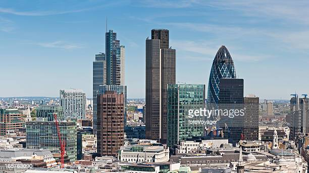 City of London skyscrapers Square Mile landmarks