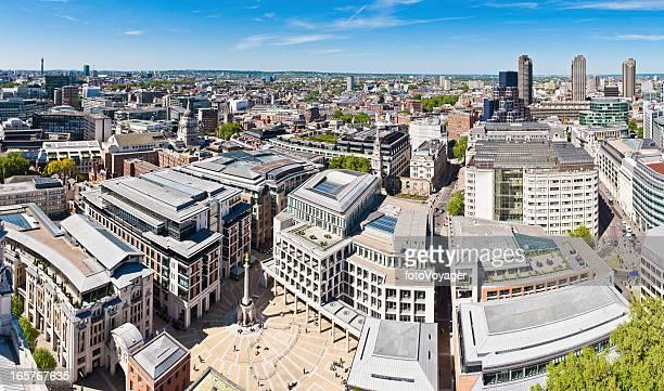 Ville de Bourse de Londres de la Paternoster Square