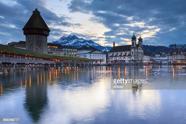 City of Lucerne in Switzerland