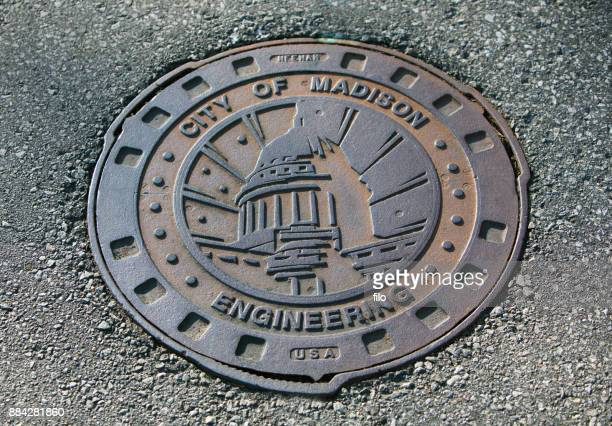 City of Madison Man Hole Cover