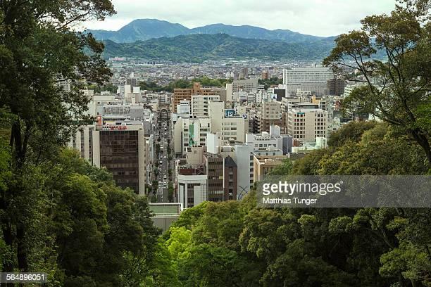 city of matsuyama - matsuyama ehime stock pictures, royalty-free photos & images
