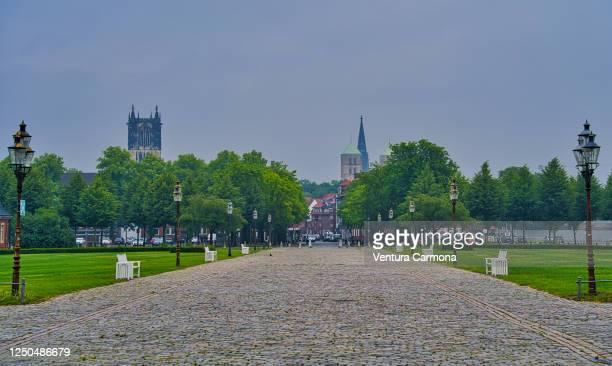 city of münster, germany - ミュンスター市 ストックフォトと画像