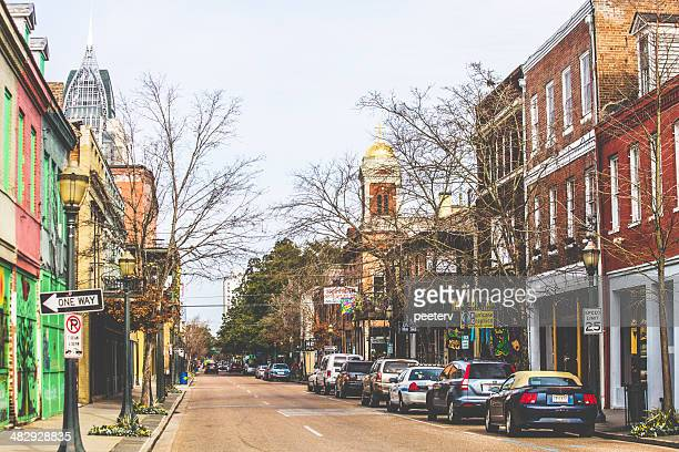 City of Mobile historic downtown.