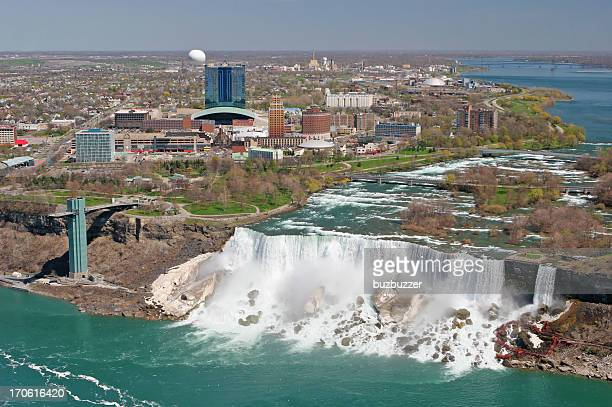 City of Niagara falls on the american side