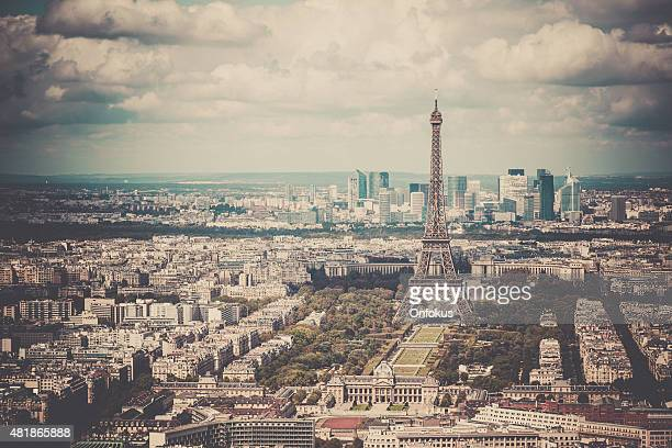 City of Paris on Summer Day, France