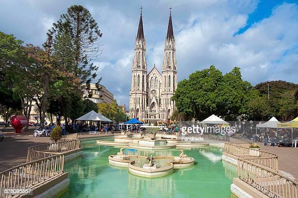 city of santa cruz do sul brazil - リオグランデドスル州 ストックフォトと画像