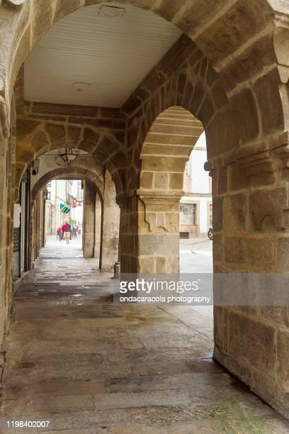 city of santiago de compostela in galicia, spain - santiago de compostela fotografías e imágenes de stock