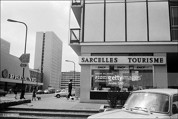 City of Sarcelles a new city designed by the architect JacquesHenri Labourdette in Sarcelles France