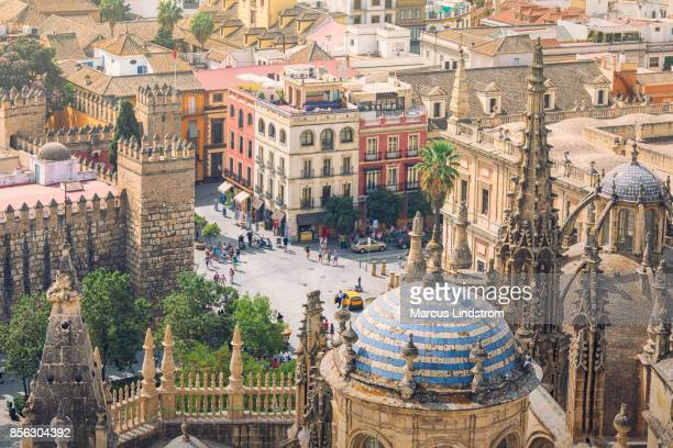 city of seville, spain - seville stock pictures, royalty-free photos & images