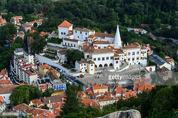 city of sintra in portugal - sintra stock pictures, royalty-free photos & images