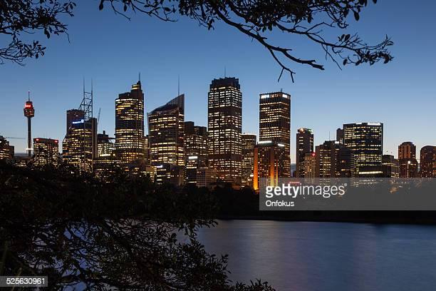 City of Sydney Cityscape at NIght, Australia