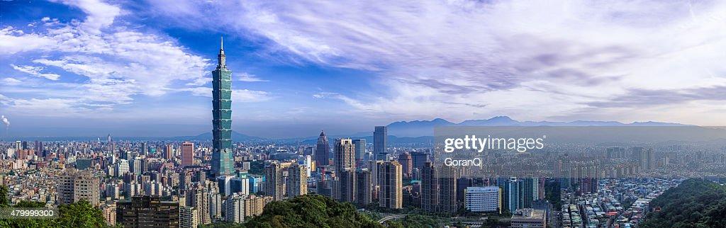 City of Taipei  Panorama : Stock Photo