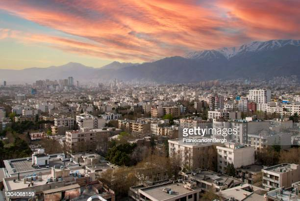 city of tehran - tehran stock pictures, royalty-free photos & images