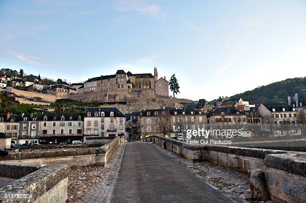 City of Terrasson-Lavilledieu in Dordogne department of France