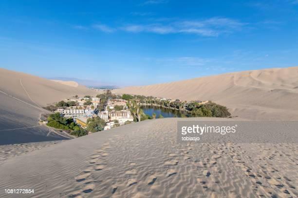 ciudad del desierto - paisajes de peru fotografías e imágenes de stock